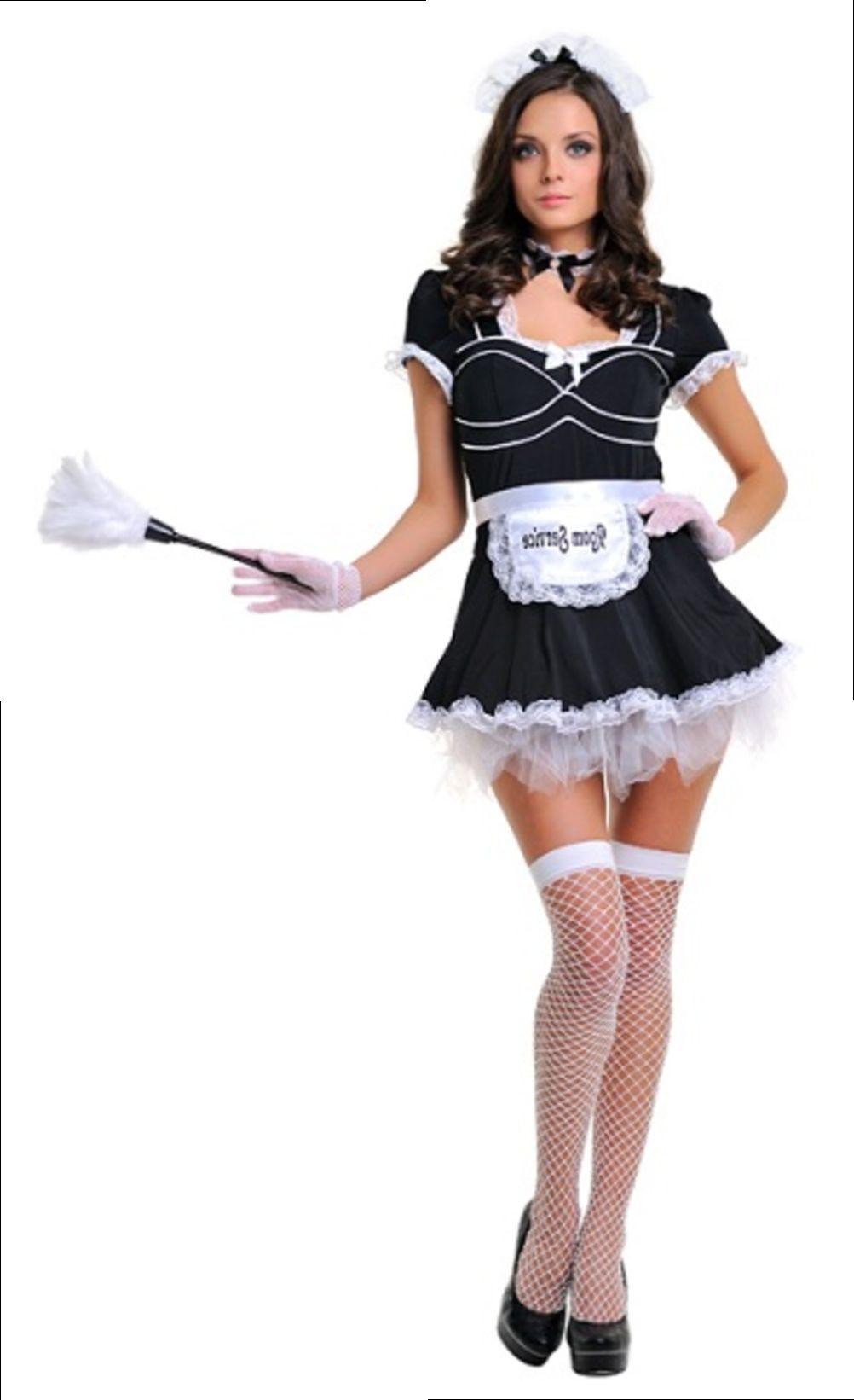 Эротический костюм служанки горничной 14 фотография