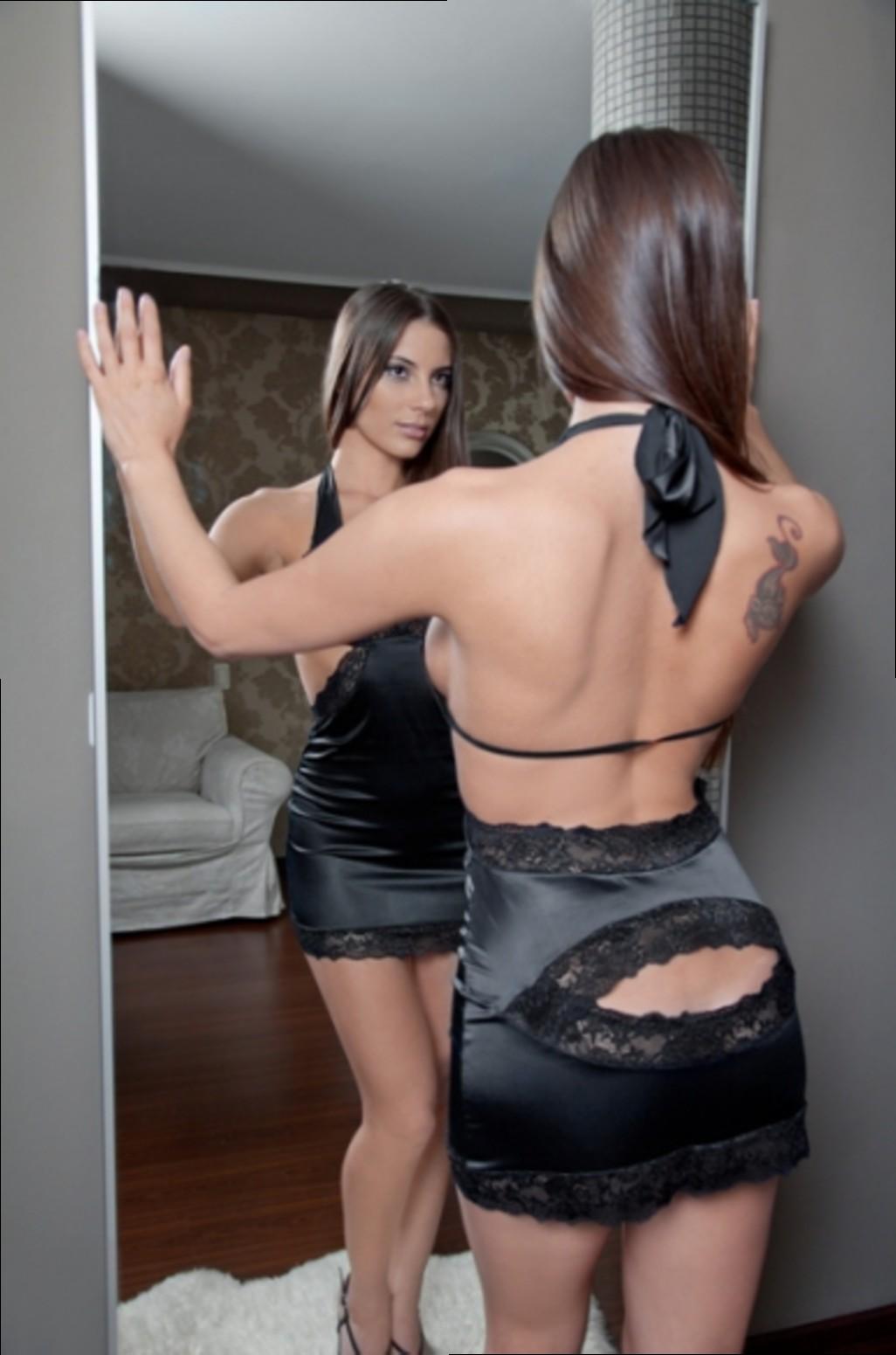 Порно платье с большим вырезом, фото девок в нижнем белье французский стиль