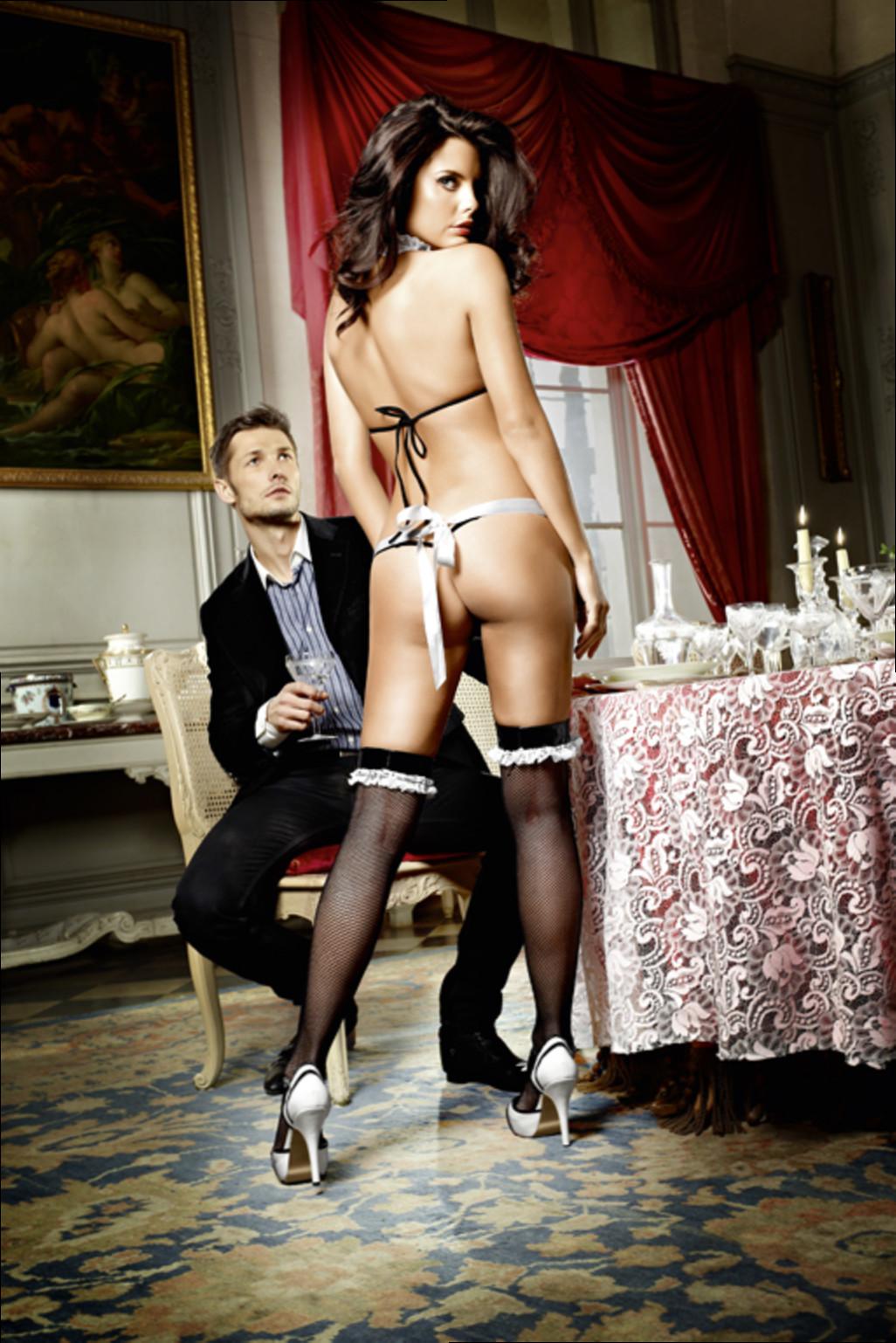 Французская официантка порно 16 фотография