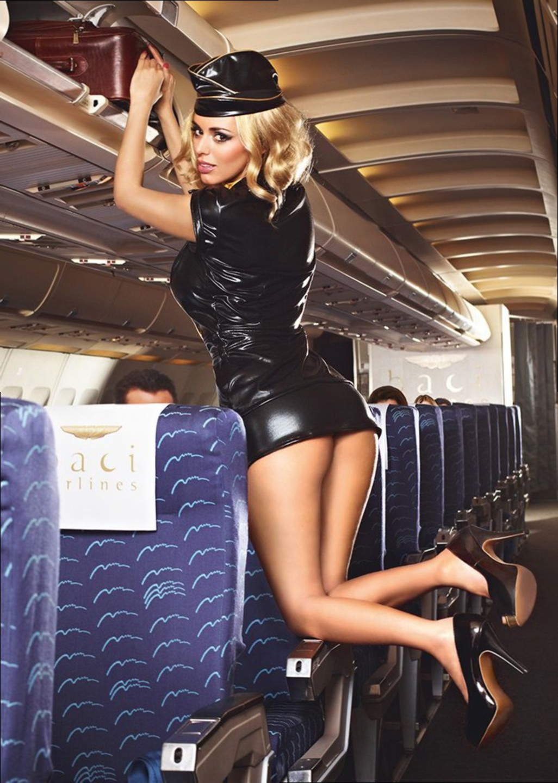 Что у стюардесс под юбками в полете 17 фотография