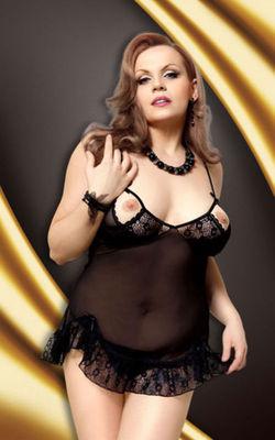 Сексуальное билье с открытой грудью